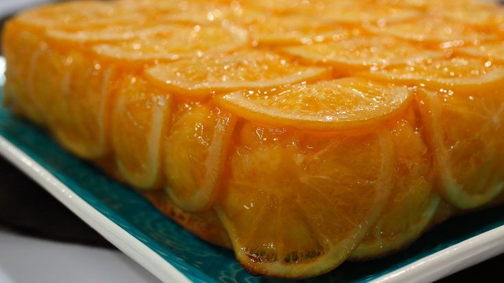 Tarta invertida de naranja - Osvaldo Gross - Receta - Canal Cocina