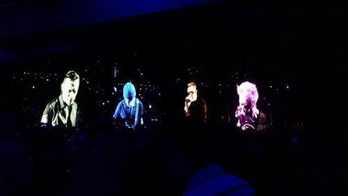 U2, Dublin 3, La Setlist