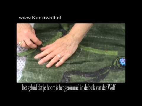 Kunstwolf - UPWOLFING bloemen 2