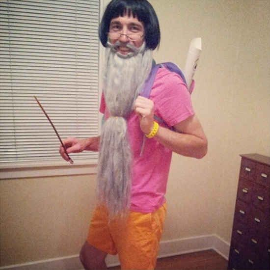 Dumbledora the Explorer | 26 Hilariously Clever Halloween Costumes