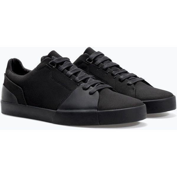Sbj Chaussures Noires Streetwear Streetwear Pour Les Hommes 01x2UMag6