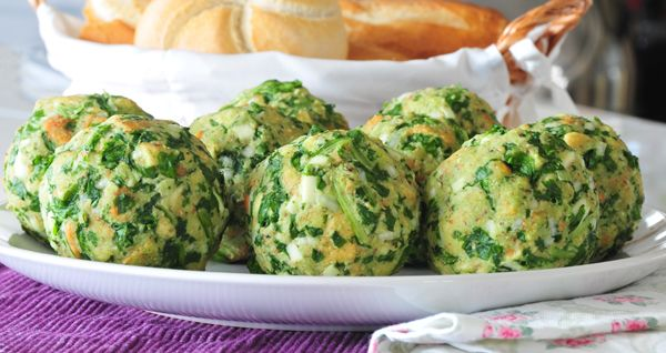 Tiroler Spinatknödel vegan