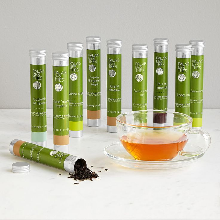 This set of ten, single-estate teas lets you sample exotic varieties from around the world.