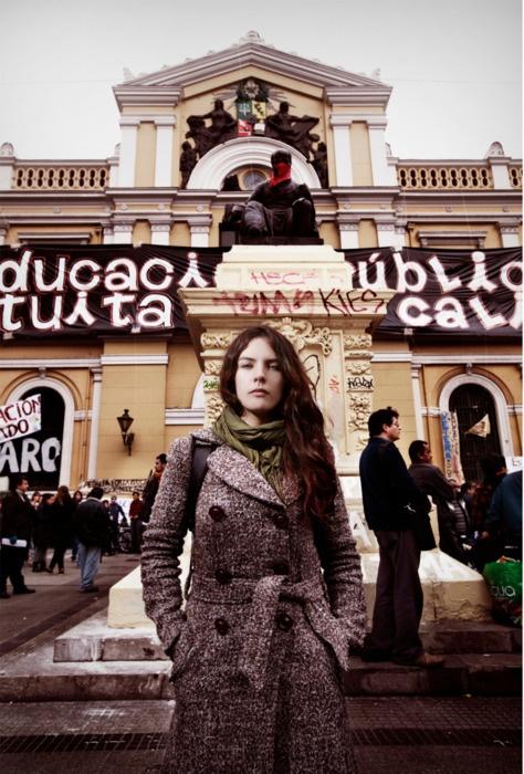 """El movimiento ya no es sólo estudiantil""""    http://radio.uchile.cl/noticias/140749/  #Educacion Universitaria - #Movimiento Estudiantil   #camila vallejos  #Chile"""