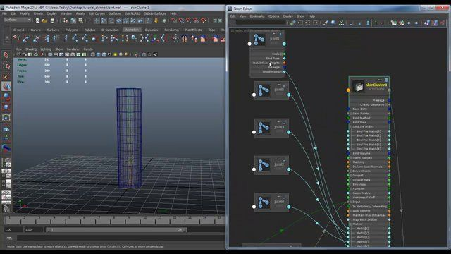 I explain how move a skinned joint with the skinCluster, and I show a little explain how to implemented in a rig here the #rigTip - maya collision system with matrix tutorial : https://vimeo.com/49104367