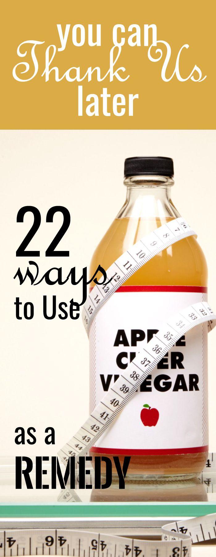 Le vinaigre de cidre a été utilisé pour de nombreux usages ménagers et culinaires …   – For my health