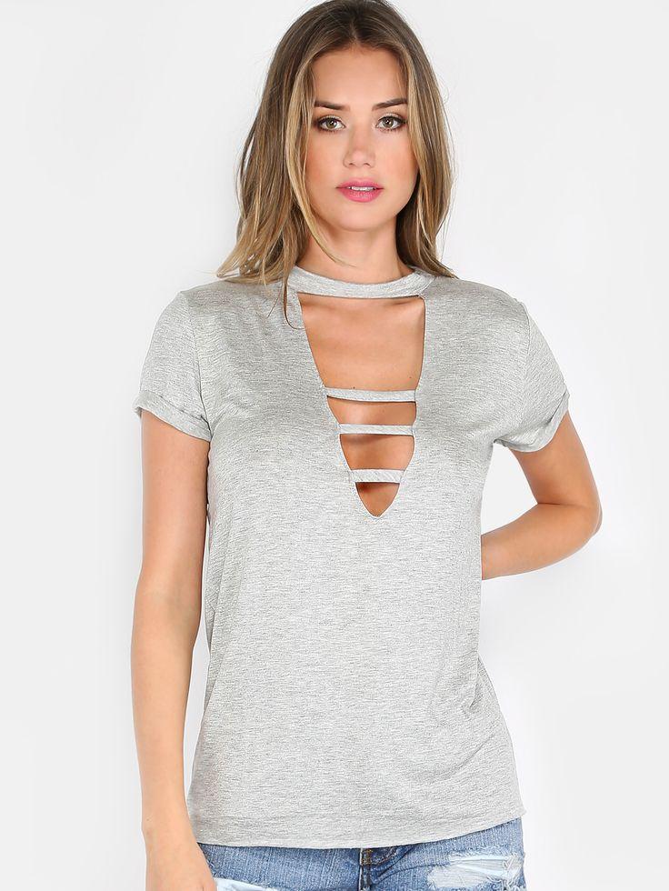 Similar cut out shirt, same color!