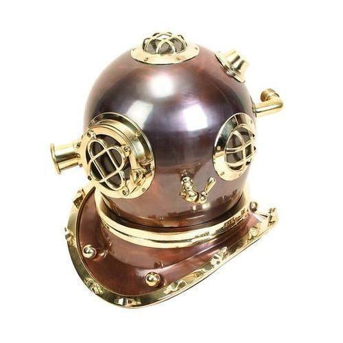 Brass Diving Helmet Feel NauticalDecoration