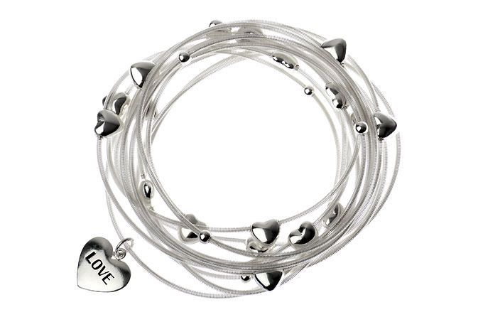 AlibiOnline - DBM117 - Bracelet With Multi Love Hearts by MAJIQUE, $45.95 (http://www.alibionline.com.au/dbm117-bracelet-with-multi-love-hearts-by-majique/)