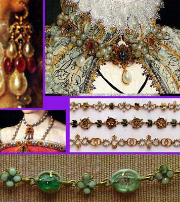 Mary, Queen of Scots' jewelry.