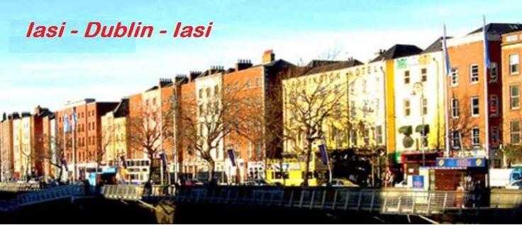 Tarom Iasi - Dublin - Iasi