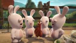 Rabbids Invasion: Omelet Party