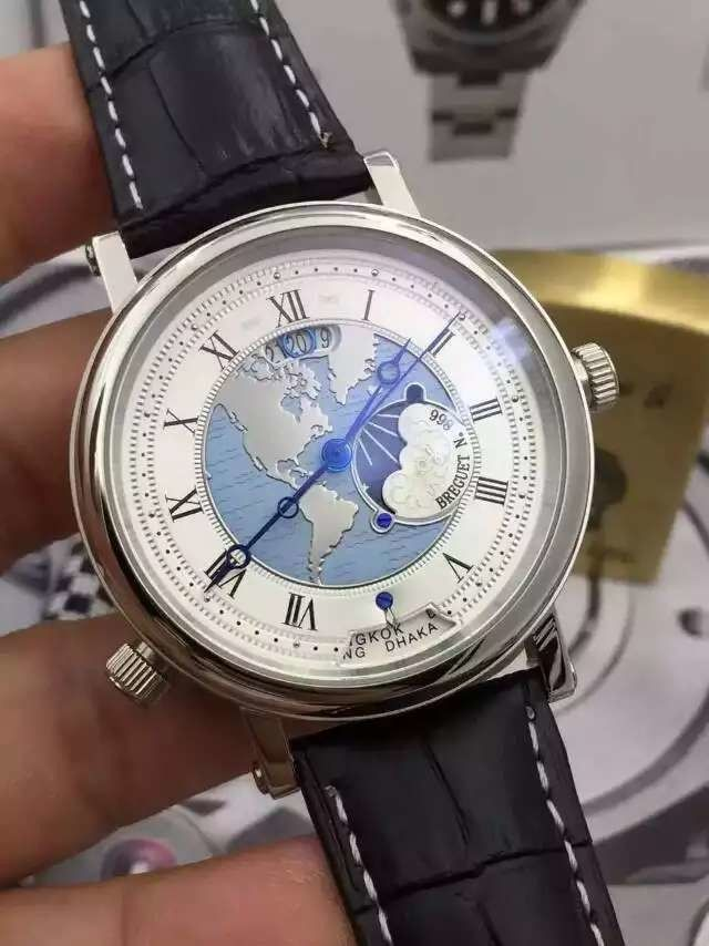 9 best breguet watches on sale 20 images on pinterest header lmby 020 price usd 106 breguet watch breguet classique hora mundi classic series main dial with world map as background arabic numerals scale gumiabroncs Choice Image