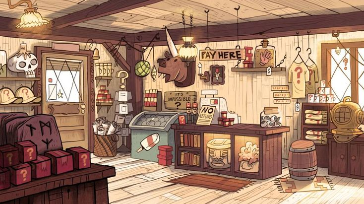 Disney's Gravity Falls Put So Much Detail Into The Mystery Shack