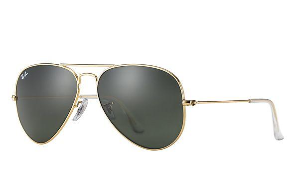 Ray-Ban RB3025 L0205  58-14 Aviator Classic  Sunglasses | Ray-Ban USA  Aviator Classic-Green Classic G-15