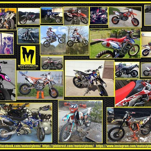 A small sample of our satisfied customers :) #motostylemx  #motorbikes  #motostylemxgraphics  #motostylemx #saaraazhstyle  #collage  #dirtbikelife  #motocross  #motocrosslife  #saaraazhstyle  #saaraazh  #decals