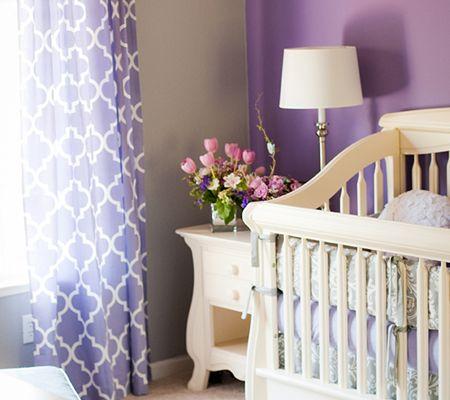 Inspired By Amethyst, 10 Purple Hued Nurseries for Babies   Disney Baby