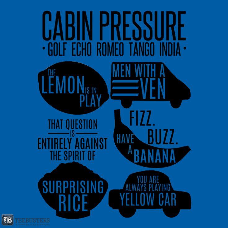 TeeBusters - Cabin Pressure Moments