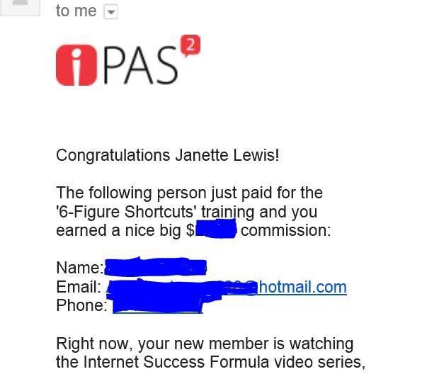 Love waking up to emails like this.  Amazingly easy how you can make money while sleeping.  #onlinemarketing #residualincome #workfromhome #lifestyle #relax learn how at www.sharethejourneyoflife.com