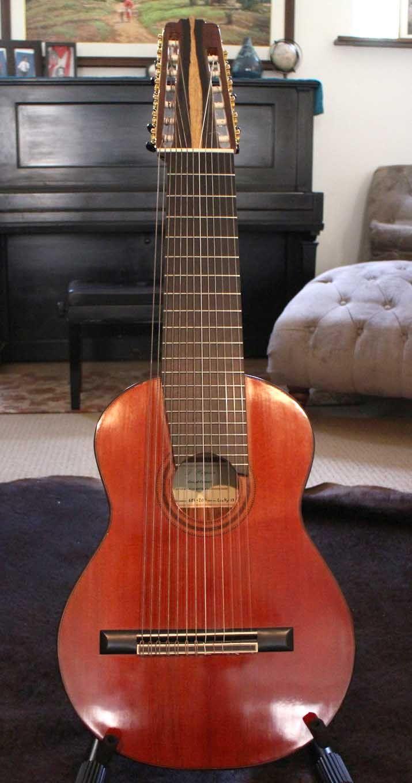 13 string guitar by darren hippner usa cedar cocobolo 2011 weird instruments guitar. Black Bedroom Furniture Sets. Home Design Ideas