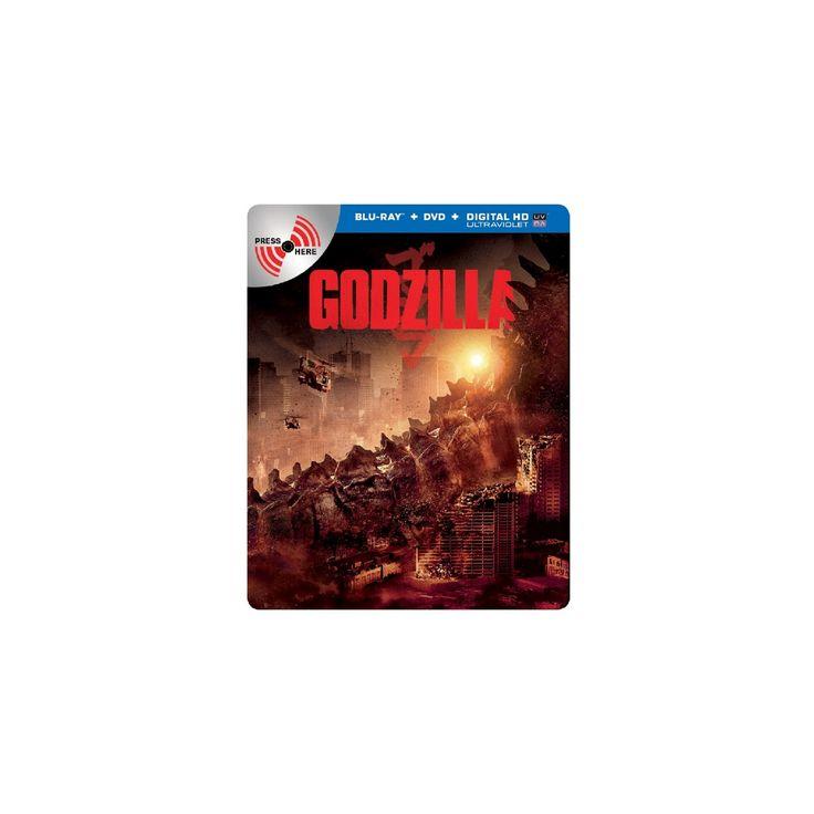 Godzilla (2 Discs) (Includes Digital Copy) (Ultraviolet) (SteelBook) (Blu-ray/Dvd)