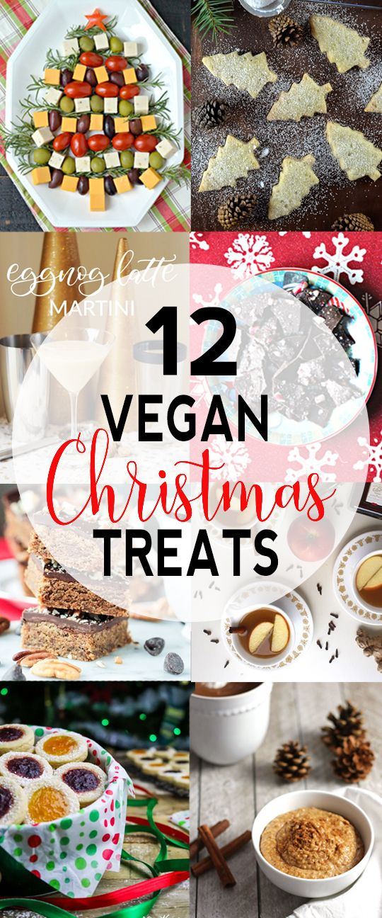 12 Vegan Christmas Recipes & Favorite Christmas Movies from vegan bloggers! via @VNutritionist