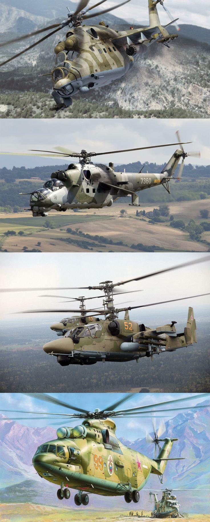 Military, aviation, soviet, transport-combat, helicopter, mi-24 flight