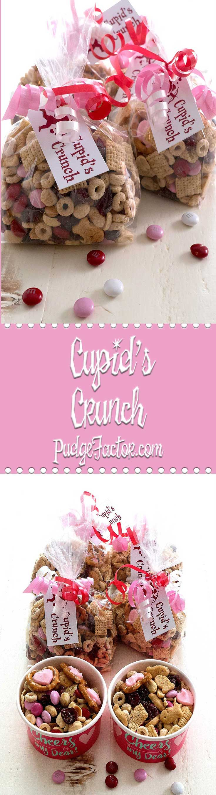 Surprise your sweetheart with Cupid's Crunch. It's a no-bake treat that combines sweet & salty to produce a perfect gift for Valentine's. via @c2king
