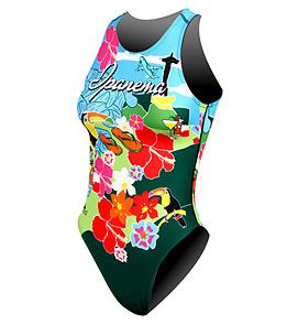Turbo Women's Ipanema Water Polo Suit