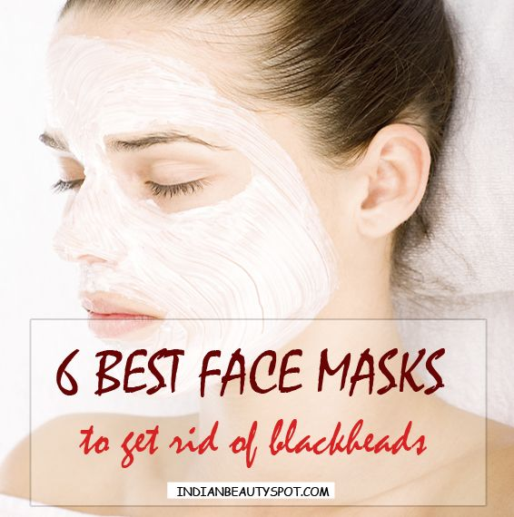 Face masks help to deep clean by getting rid of excess ...