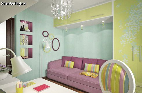 Дизайн детской комнаты 6 кв.м.