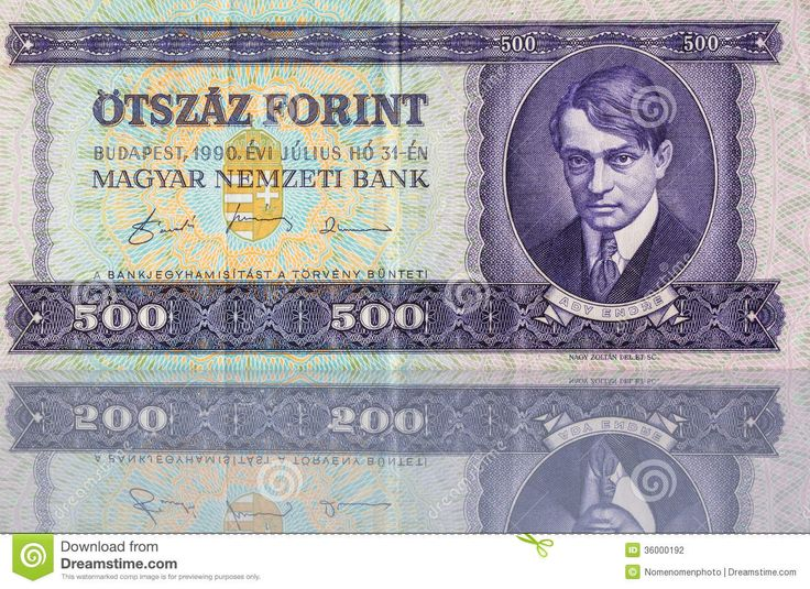 hungary money | forint money from hungary in a mirror mr no pr no 1 0 0