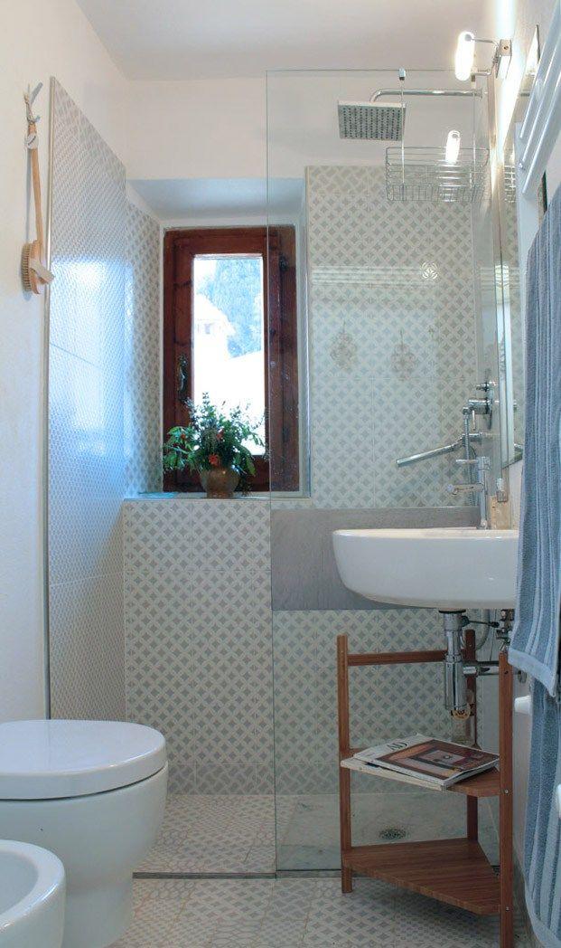... Rimodellazione bagno piccolo, Bagni piccoli e Colori per bagno piccolo