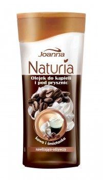 Olejki do kąpieli i pod prysznic Naturia body jednocześnie myją i pielęgnują ciało. Zapach kawy ze śmietanką sprawia, że codzienna pielęgnacja z olejkiem do kąpieli staje się wyczekaną, ulubioną chwilą dnia!