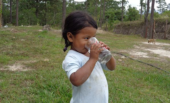 Water Purifier: Water-borne parasites are rife in many countries. This household water purifier will help prevent disease in children in Honduras and the Philippines and make water safe for children to drink.