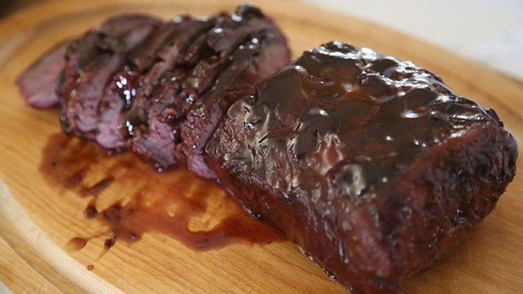 Recipe: Candied Black Bear Backstrap