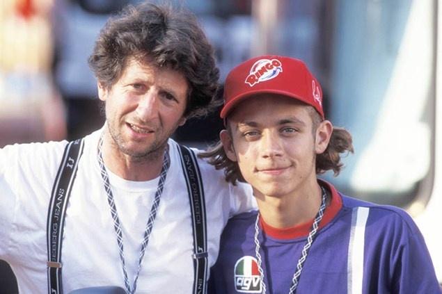 Graziano Rossi, Valentino Rossi