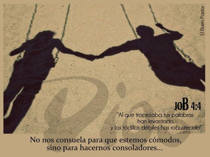 YO SOY EL BUEN PASTOR: Job 4:4