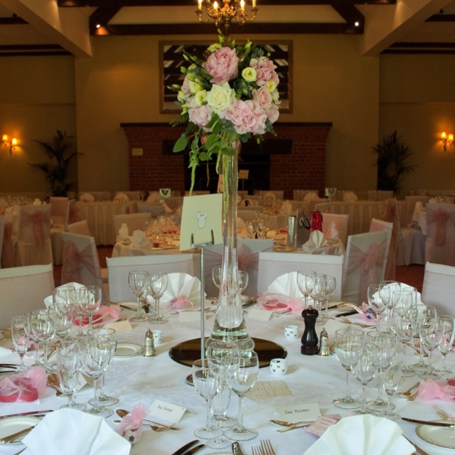 Reception - Tylney Hall 18th June 2011