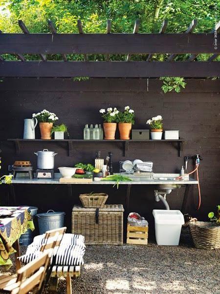 Inspírate: Cocinas al aire libre
