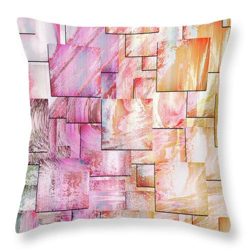 Something In The Air Contemporary Abstract Art Throw Pillow for Sale by Georgiana Romanovna https://fineartamerica.com/products/something-in-the-air-contemporary-abstract-art-georgiana-romanovna-throw-pillow.html