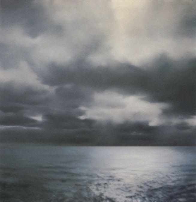 Gerhard Richter - Seascape