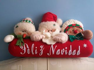 Creaciones Matilde: Hermosos cojines navideños