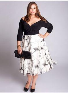 Large Sizes, Moda Para Gorditas, Vestidos Para Gorditas, Dresses, Curvy Women, Size Fashion, Gorgeous Dress, Con Google