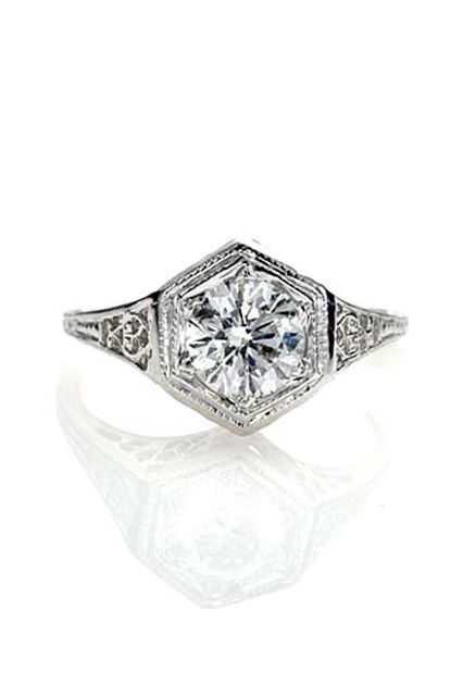 Instagram's Most Epic Engagement Rings #refinery29  http://www.refinery29.com/unique-wedding-rings#slide-22