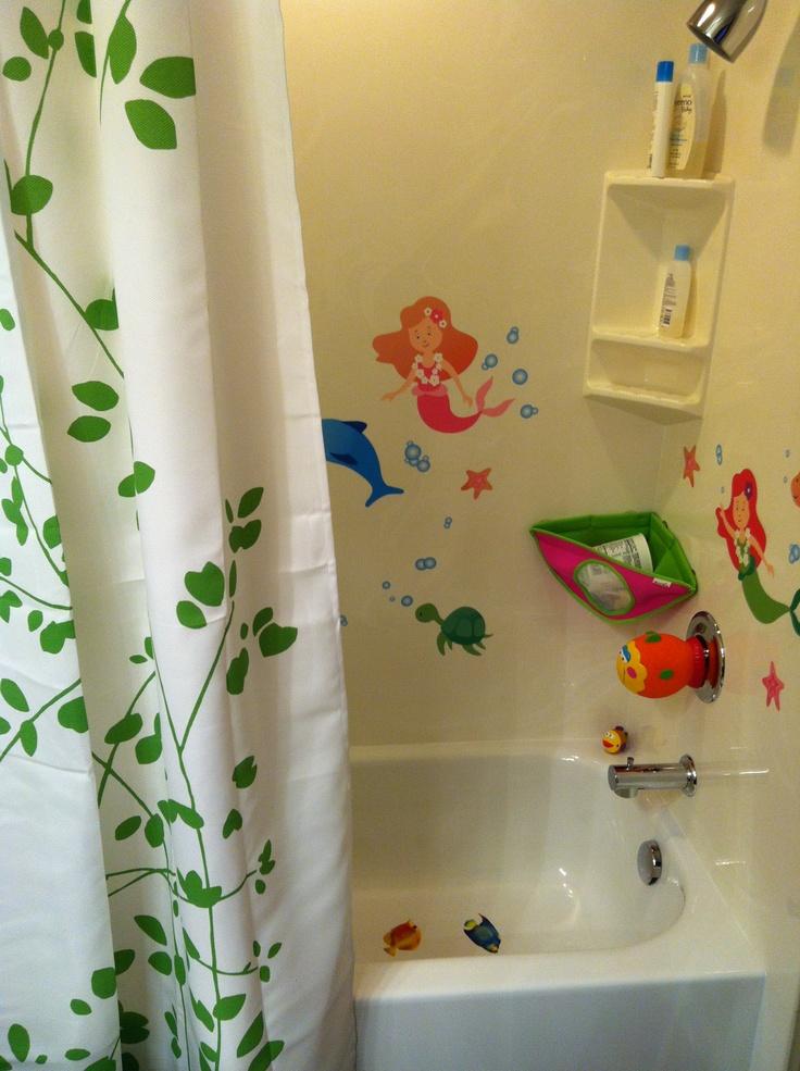 Mermaid Bathroom!