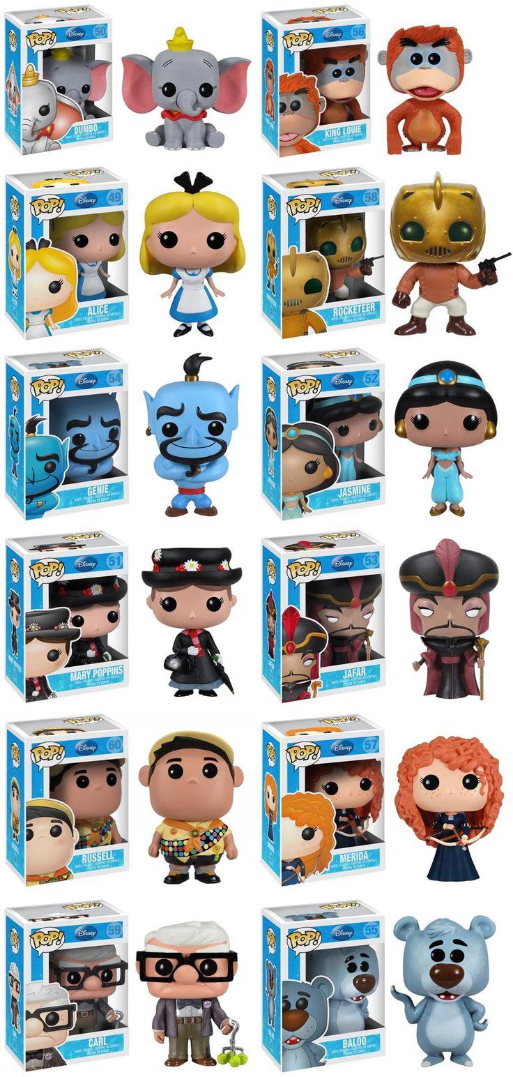 Funko Pop Disney Series 5 Complete Set
