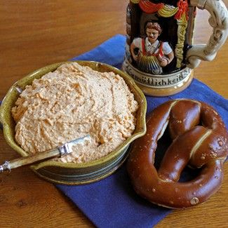 Obatzda Spread (cheese, onion, beer, butter, caraway & paprika)