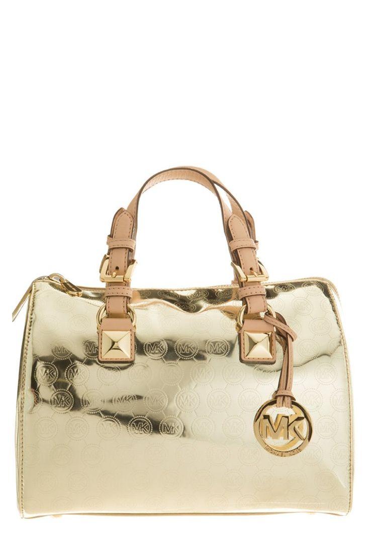 MICHAEL Michael Kors - GRAYSON - Håndtasker - guld