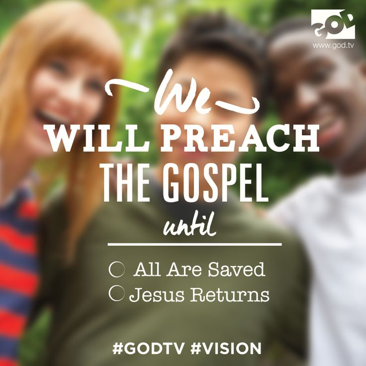 We are passionate about reaching the nations with the Gospel of Jesus Christ! www.god.tv/ex